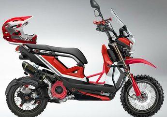 Asyik Buat Garuk Tanah, Honda Zoomer-X Pindah Aliran Jadi Motor Trail