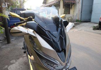 Obat Ganteng, Bukan Cuma Yamaha NMAX, Cover Bodi Depan Ala XMAX Juga Tersedia Buat Honda PCX