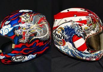 Sempat Dibully di Negara Sendiri, Helm Repaint Dari Indonesia Jadi Buruan Kolektor Luar Negeri