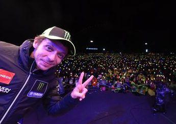 Tantangan Diterima, Valentino Rossi DItantang Jawab Cepat Pertanyaan, Lama Respons Pas Ditanya Nama Perempuan