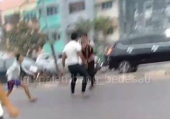 Jalanan di Palembang Mencekam, Video 2 Anggota TNI Terlibat Duel dengan Polisi, Begini Kronologisnya