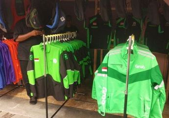 Dampak Bom Bunuh Diri di Mapolrestabes Medan Penjualan Atribut Ojol Diperketat