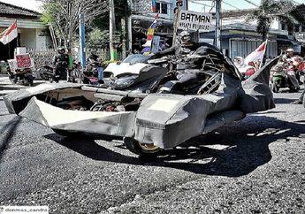Ampun Bro, Modifikasi Yamaha NMAX Ala Batman Dikomentar Sinis