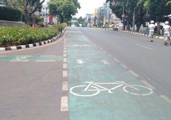 Ingat Ada 22 Titik di DKI Jakarta, Pemotor Masih Nekat Serobot Jalur Sepeda Langsung Setor Rp 500 Ribu