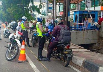 Waspada, Mulai Hari Ini Pemotor yang Masih Nekat Terobos Jalur Sepeda Bisa di Penjara 2 Bulan