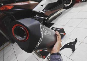 Suara Menggelegar Tampilan Makin Kece, Cek Harga Knalpot Racing Buat Yamaha XMAX