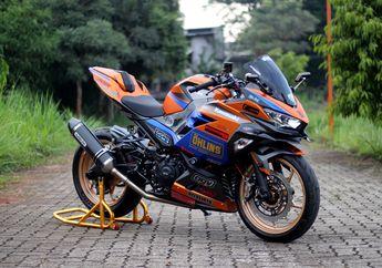 Sultan Mah Bebas, Modifikasi Kawasaki Ninja 250 Habiskan Biaya Rp 80 Juta,  Apa Saja Ubahannya?
