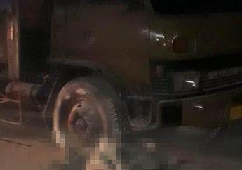 Tragis, Gara-gara Gas Nyangkut Saat Keluar SPBU, Pelajar Terseret dan Tewas Meregang Nyawa di Bawah Ban Truk Fuso