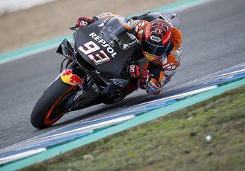 Marc Marquez Cedera Bahu Kelar Tes Pra Musim MotoGP 2020, Malah Ngotot Tetap Lanjutkan Balapan
