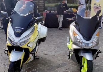 Tampang Terbaru Honda PCX150 Makin Ganteng, Pasang Cover Depan Baby Forza, Harga Pas di Kantong