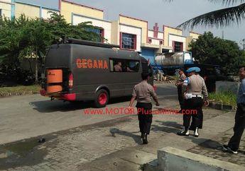 Breaking News! Diduga Bom Tangerang Bikin Geger Kawasan Industri Milenium, Depan Pabrik Knalpot Racing R9