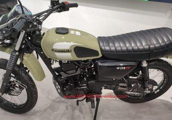 Desain Jangkung dan Baru Bergaya Scrambler, Simak Spesifikasi Lengkap Kawasaki W175TR