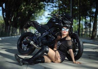 Berubah Seperti Black Panter,  Tampilan Berbeda Yamaha MT-15 Pakai Spare Part Carbon