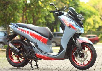 Modifikasi Yamaha Lexi Abarth Edition, Mesin Jadi 155 Cc, Kaki-kaki Gambot