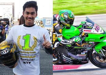 Dua Jempol! AM Fadly Resmi Sabet Gelar Juara ARRC AP250, Bawa Kawasaki Ninja 250 Juara Asia