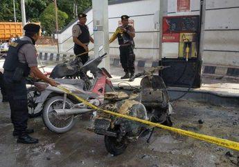Lampung Mencekam, Tiga Motor dan Satu Mobil Terbakar Saat Mengisi Bensin di SPBU, Penyebabnya Ternyata Motor Suzuki Thunder