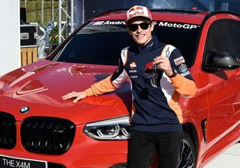 Gokil! Marc Marquez Koleksi 7 Mobil Mewah Seharga Rp 15 Miliar, Sebagian Jadi Kado Buat Mekaniknya