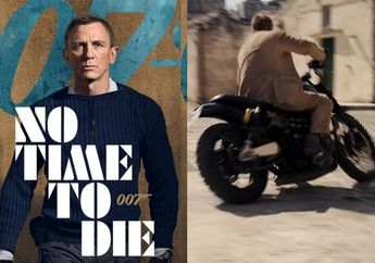 Sangar! Motor di Film James Bond No Time To Die, Ada Yang Dijual di Indonesia?