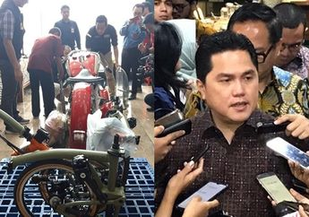 Terungkap! Identitas Pemilik Harley-Davidson Ilegal di Pesawat Garuda, Mennko BUMN Erick Thohir Ancam Copot Direksi Garuda