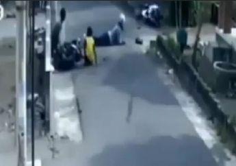 Yamaha NMAX Ambyar Sambil Salto Gara-gara Honda BeAT Lewat Sembarangan, Netizen: Moge NMAX Gak Bisa Pelan Bor!