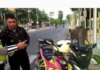 Viral Video Pengawal Ambulans Gak Berkutik Ditilang, Sempat Debat di Pinggir Jalan, Terancam Penjara atau Denda Rp 250 Ribu