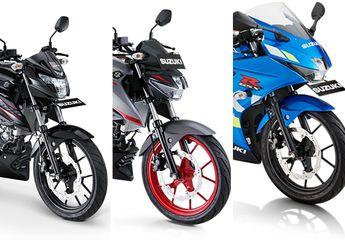 Ini Saatnya Beli Motor Suzuki Tipe Sport,  Ada Diskon Rp 1 Jutaan