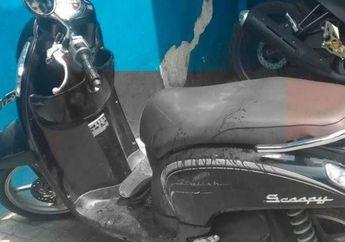 Madura Geger, Honda Scoopy Berlumuran Darah Polisi yang Ditusuk Oknum Anggota TNI, Kasus Perselingkuhan Terbongkar