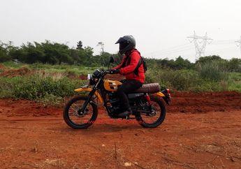 Test Ride Kawasaki W175TR, Jalan Mulus atau Berlumpur Tetap Nyaman Dikendarai