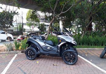 Punya Empat Roda Seperti Mobil, Skutik Baru Qooder Bisa Masuk Jalan Tol? Begini Kata GForce Republic