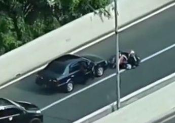 Tragis, Diver Ojek Online Terobos JLNT Casablanca Malah Terkapar Disundul Mobil, Ketakutan Lihat Ada Polisi