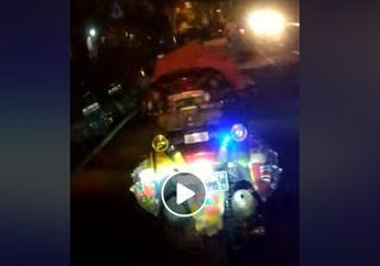 Pengendara Yamaha NMAX Banjir Hujatan, Pasang Lampu Strobo dan Merokok Sambil Berkendara, Pemotor di Belakang Nyaris Celaka