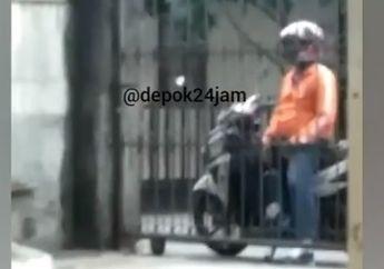 Pria Pamer Anunya Sambil Masturbasi di Atas Motor Depan Kosan Putri Bikin Cewek Histeris, Pergi Tanpa Tutup Resleting