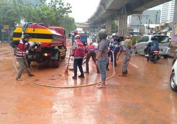 Pemotor Wajib Waspada, Hindari Jalan Banjir di Jakarta, Berikut Ini Daftar Jalan Yang Sudah Mulai Surut