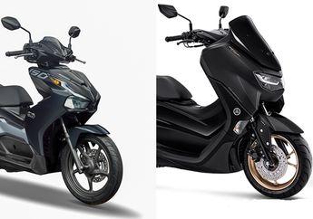 Duel Maut Yamaha All New NMAX 155 Vs Honda Air Blade 150, Siapa yang Unggul Fitur dan Spesifikasinya?