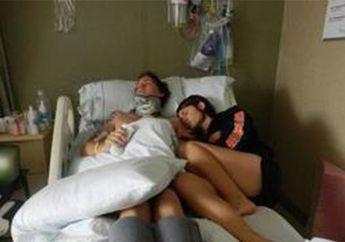 Bikin Haru, Begini Kisah Pasutri Yang Ditinggal Koma Selama 2 Tahun Karena Kecelakaan Motor, Sabar Banget Istrinya, Bro