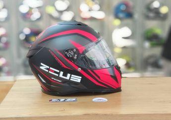 Sudah Flat Visor, Segini Harga Helm Zeus ZS-822B Edisi Juragan Helm