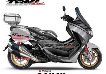 Cakep, Ini Tiga Pilihan Modifikasi Yamaha All New NMAX dari Touring, Sport dan Blue In The Sky Concept