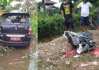 Bocah SMA Nekat Bawa Mobil Dinas dan Hantam Yamaha Mio M3 Sampai Ringsek, Ibu dan Anak Jadi Korban Meninggal Dunia