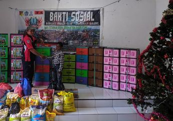 Rayakan Natal, ARCI Chapter Bitung Berbagi Kebahagiaan di Panti Asuhan, Saling Toleransi Antar Member