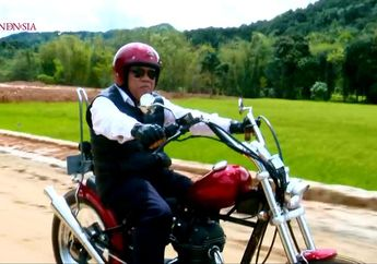 Motor Custom Menteri PUPR Basuki Hadimuljono Jadi Perhatian, Intip Detail Motor Racikan Elders Garage dan Kick Ass Chopper