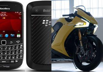 Masih Ingat Ponsel BlackBerry? Sekarang Buat Sistem Operasi Untuk Motor
