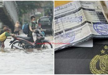 BPKB dan STNK Motor Ambyar Pasca Diterjang Banjir? Datang ke Samsat Satu Hari Langsung Dapat Ganti yang Baru