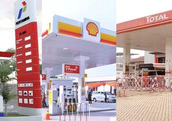 Harga Bensin Pertamina, Shell, Total dan BP Kini Sama Saja, Ini Harga Lengkapnya
