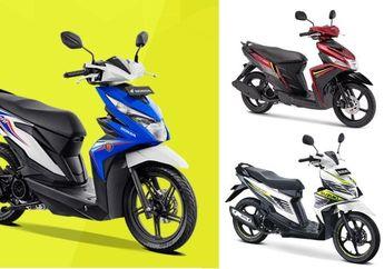 Update Harga, Motor Matic Honda dan Yamaha Naik Sedangkan Suzuki Masih Bertahan, Ini Daftar Harganya