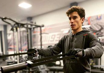 Bikin Ngilu, Marc Marquez Latihan Fisik Biar Cedera Bahu Kanan Sembuh Total, Pakai Disetrum Segala