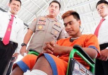 Sudah Beraksi di 14 Tempat, Karir Nawawi Si Maling Motor Akhirnya Berakhir, Betis Kiri Bolong Ditembak Polisi