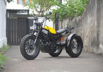 Sangar Ala Yamaha XSR155, Kerennya Yamaha V-Ixion Custom Milik Biker Disabilitas,