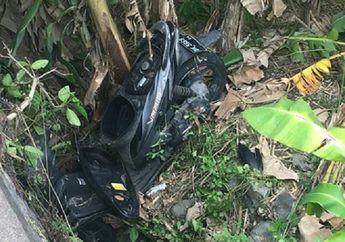 Warga Bali Geger, Ada Motor Honda Vario Misterius Ditemukan di Selokan Dengan Kondisi Setengah Hancur Tanpa Pemilik