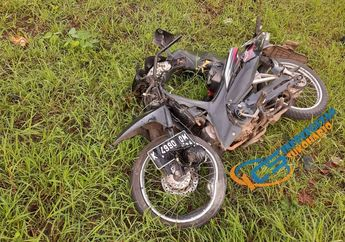 Sukoharjo Geger, Honda Revo Ringsek Usai Tabrak Mobil dan Truk, Korban Terkapar Tak Sadarkan Diri