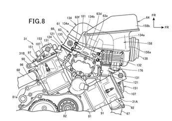 Pasti Jengat Honda Patenkan Motor Bermesin Supercharge, Apakah Untuk Menyaingi Ninja H2?